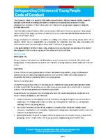 2020-09-23 Safeguarding Children and Young People Code of Conduct – September 2020-FINAL